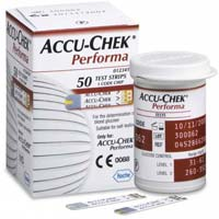 ACCU-CHEK Performa 50 Blood Sugar Level Testing Kit
