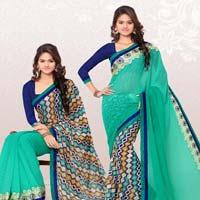 Rekhamaniyar Fashions Designer Reversable Sari 8538