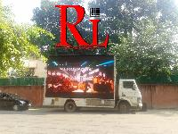 Display Screen Van On Hire