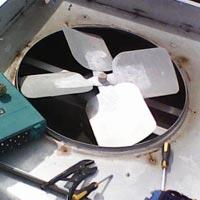 Panel Air Conditioner Repairing