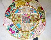 Cotton Bohemian PatchWork Pouf Cover