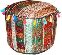 Indian Hippie Cotton Pouf Cover