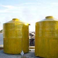 Fibre Glass Chemical Storage Tank