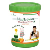 WheatGrass Powder in Orange Flavour
