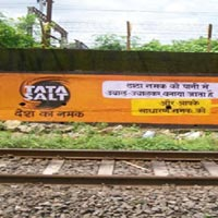 Wall Painting Advertising For Railway