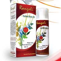 Rangoli Herbal Body Oil