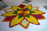 Rangoli Flower Decoration