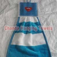 Wash Basin Hanging Towels