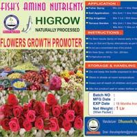Higrow  Flowering Plants  Liquid  Plant Growth Promoter