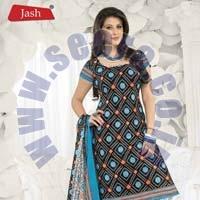 Bandani Print Dress Materials