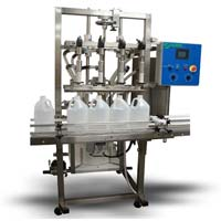 Semi Automatic Bottle Filling Machine