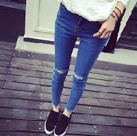 Girl Fashion Jeans