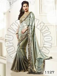 Georgette Sarees - Manufacturer, Exporters and Wholesale Suppliers,  Gujarat - YUPU INTERNATIONAL