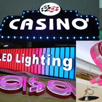 Led Sign Board Printing Services