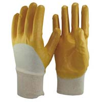 Nitrile Half Dipped Gloves