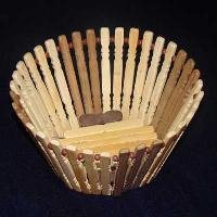 Wooden Basket 01