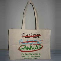 Canvas Shopping Bag - Manufacturer, Exporters and Wholesale Suppliers,  West Bengal - Enchant