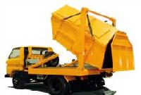 Dumper Placer On Chassis & Garbage
