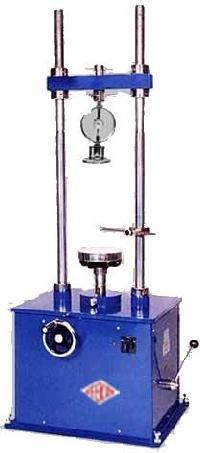 unconfined compression test machine