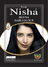 Black Henna Hair Color