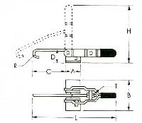 Hpl - Pull Hook Clamps