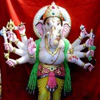 Lord Ganesh Marble Statues