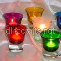 Glass T-light Holders