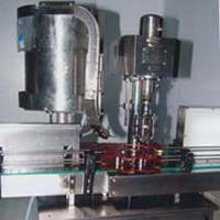 Automatic Bottle Filling & Cap Sealing Machine