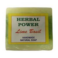 Herbal Power Lime Basil Soap