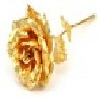 24 Kt Golden Rose Small