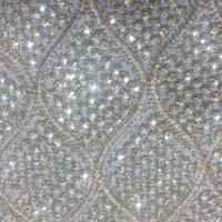 Zari Work Georgette Fabric