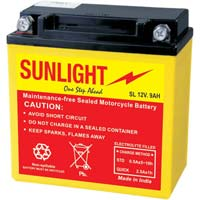 12V.9AH Motorcycle Battery