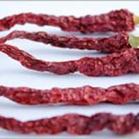 Dried Red Chilli Byadgi With Stem