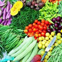 Organic And Non Organic Vegetables