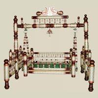 Wooden Balmukund Cradle