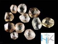 Natural Off Brown Rough Diamonds