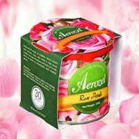 Car Gel Perfume Rose Petals
