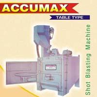 Accumax Table Shot Blasting Machine