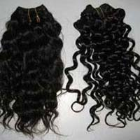 Artificial Curly Human Hair