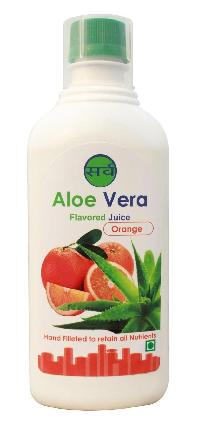 Orange Flavored Aloe Vera Juice