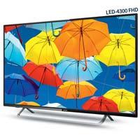 Intex Led-4300 Fhd 108 Cm Full Hd Display Led Television