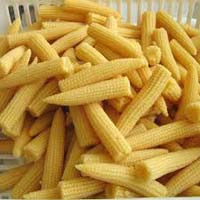 Caned Baby Corn
