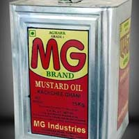 MG Kachi Ghani Mustard Oil(15 Kg Tin)