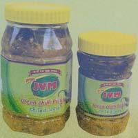 Jvm Green Chilli Pickle