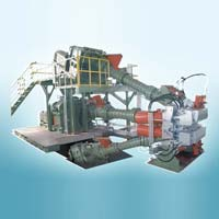 Three Composite Rubber Extruder