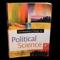 MA Political Science Book
