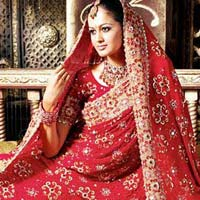 Bridal Heavy Work Sarees