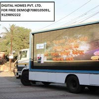 Led Video Van , Mobile Van, Hydraulic Led Video Van..