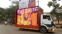 Led Video Van , Mobile Van, Hydraulic Led Video Van Provider On Rental