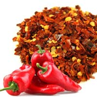 Dehydrated Red Chili Flakes